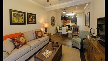 What will $1,200 rent you in Deerwood, today?