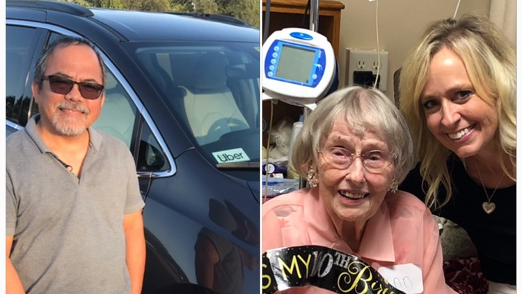 Uber driver takes 400 mile drive to get sisters to 100th birthday party