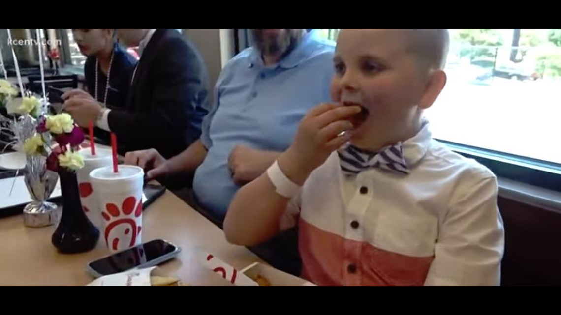 Danny's story: How a brain tumor patient got Chick-fil-A delivered on Easter Sunday