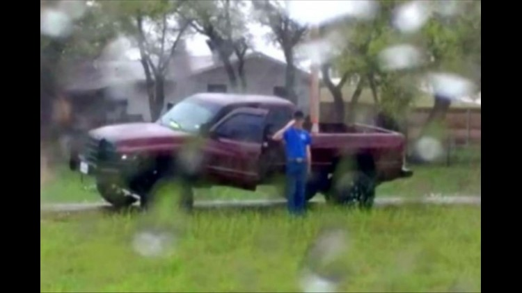 A Fort Hood Soldier, who made headlines after he was photographed saluting a veteran's funeral procession in the pouring rain, lost his home in a fire Saturday evening.