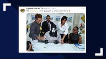 Jamaican lottery winner wears 'Scream' mask to keep identity a secret