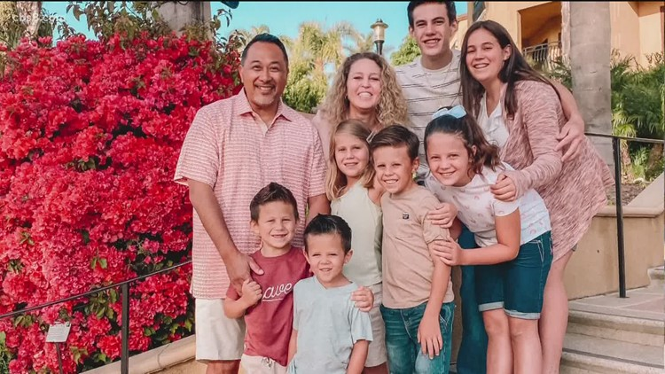 Inspired by 3-minute news story that made a lifelong impact, empty nesters adopt 7 siblings