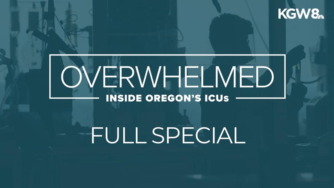 Overwhelmed: Inside Oregon's ICUs   'We see no end'