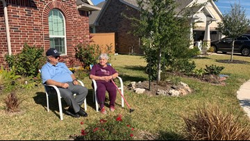 HOA sues retired Texas City couple for up to $100,000 for flower beds that don't meet guidelines
