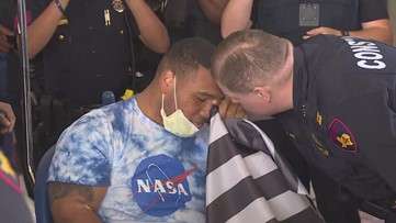 Texas deputy constable Juqaim Barthen released from hospital