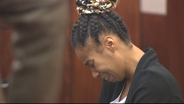 Woman accused of running over 3-year-old son in deadly 'game of chicken' taken back into custody
