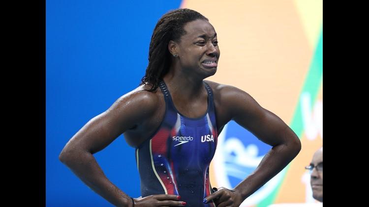 <p>RIO DE JANEIRO — Simone Manuel won a gold medal in the women's 100 freestyle final Thursday night, surprising even herself.</p>
