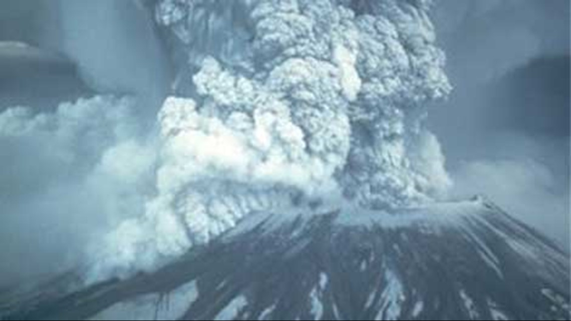 Mount St. Helens blew her top on May 18, 1980