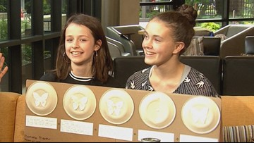 Seattle teens create compostable plates that grow into flowers