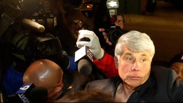 Blagojevich speaks outside Chicago home after prison release