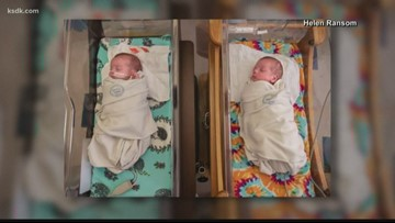 Kansas City, Missouri hospital caring for 12 sets of twins