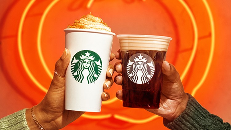 PSL is back! Here's what's on Starbucks' fall menu starting today