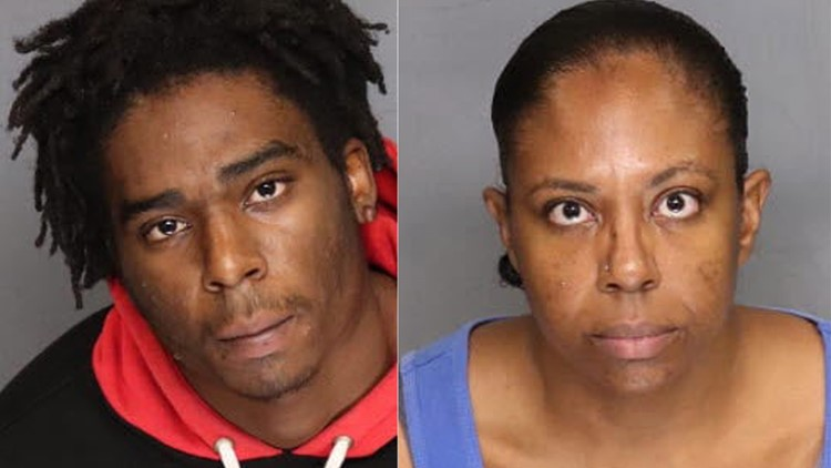 Human Trafficking Suspects Montel Armstrong and Sheila Logan