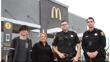 McDonald's crew helps abused woman who mouthed 'help me' at drive-thru window