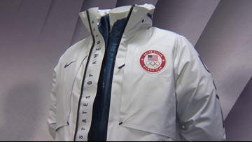 Team USA unveils podium outfits for Olympics