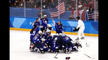 U.S. women end Canada's streak to win hockey gold in shootout at 2018 Winter Olympics