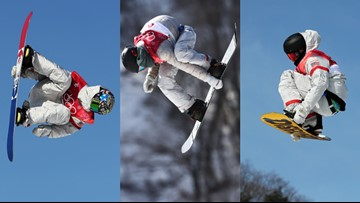 Feb. 23 Olympics: U.S. snowboarders go for gold in big air
