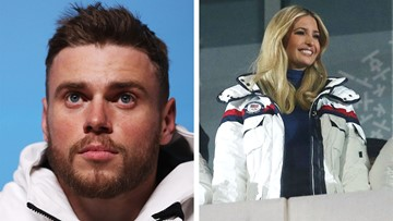 Team USA skier Gus Kenworthy questions why Ivanka Trump is at the Olympics