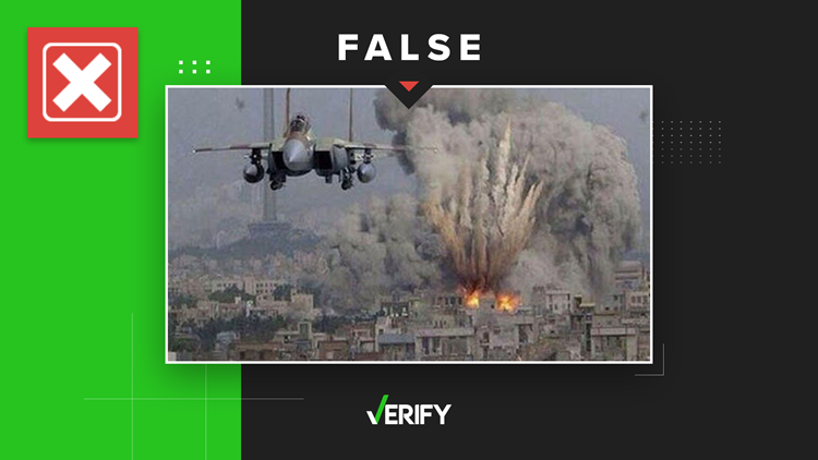 No, this photo is not from the recent bombings in the Gaza Strip