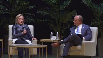 Clinton on Bernie Sanders: 'Nobody Likes Him, Nobody Wants to Work with Him, He Got Nothing Done'