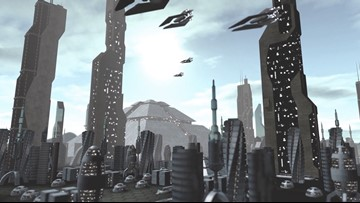Near-Future 'Smart Cities' Might Feature Flying Cars & Talking Roads