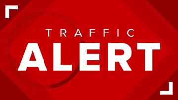 Westbound lanes of Argyle Forrest Boulevard at Staples Mill Drive closed due to crash with life-threatening injuries