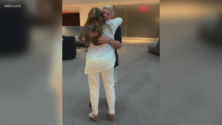 East Tennessee adoptee hugs biological father for first time at 55 years old