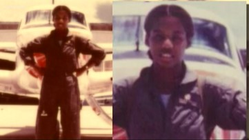 Meet Brenda: The Navy's first African American female pilot to earn her wings