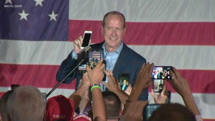 President Donald Trump calls Dan Bishop after North Carolina District 9 victory
