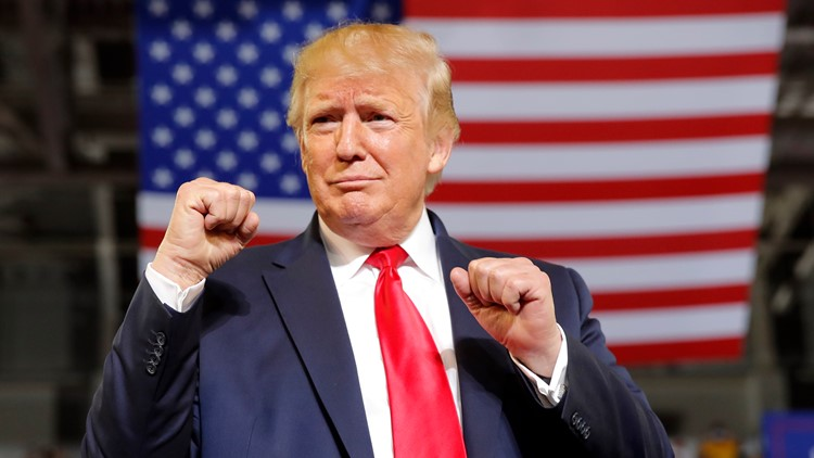 Trump slams congresswomen; Greenville crowd roars, 'Send her back!'