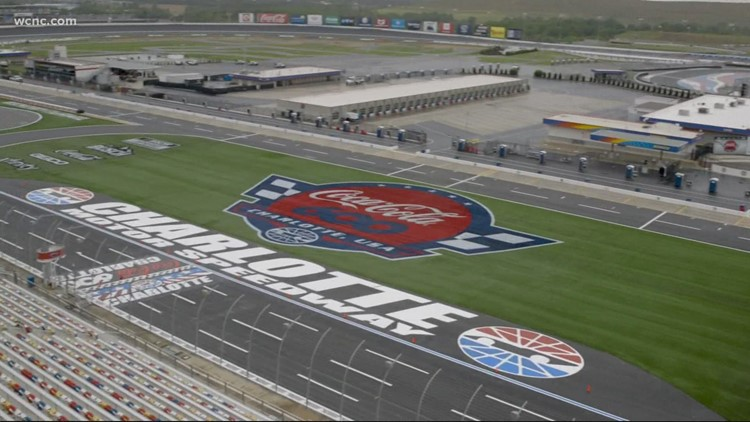 NASCAR Coca-Cola 600 at Charlotte Motor Speedway today