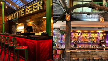 Drink beer in a treehouse when the world's biggest beer garden opens in North Carolina