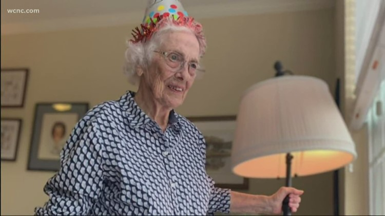 Coronavirus couldn't stop this 99th birthday, even if it did change it slightly