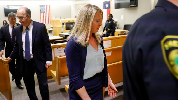 Racist and violent texts, social media comments revealed during Amber Guyger sentencing phase