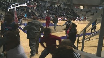 Texas teen shot in chest during high school basketball game