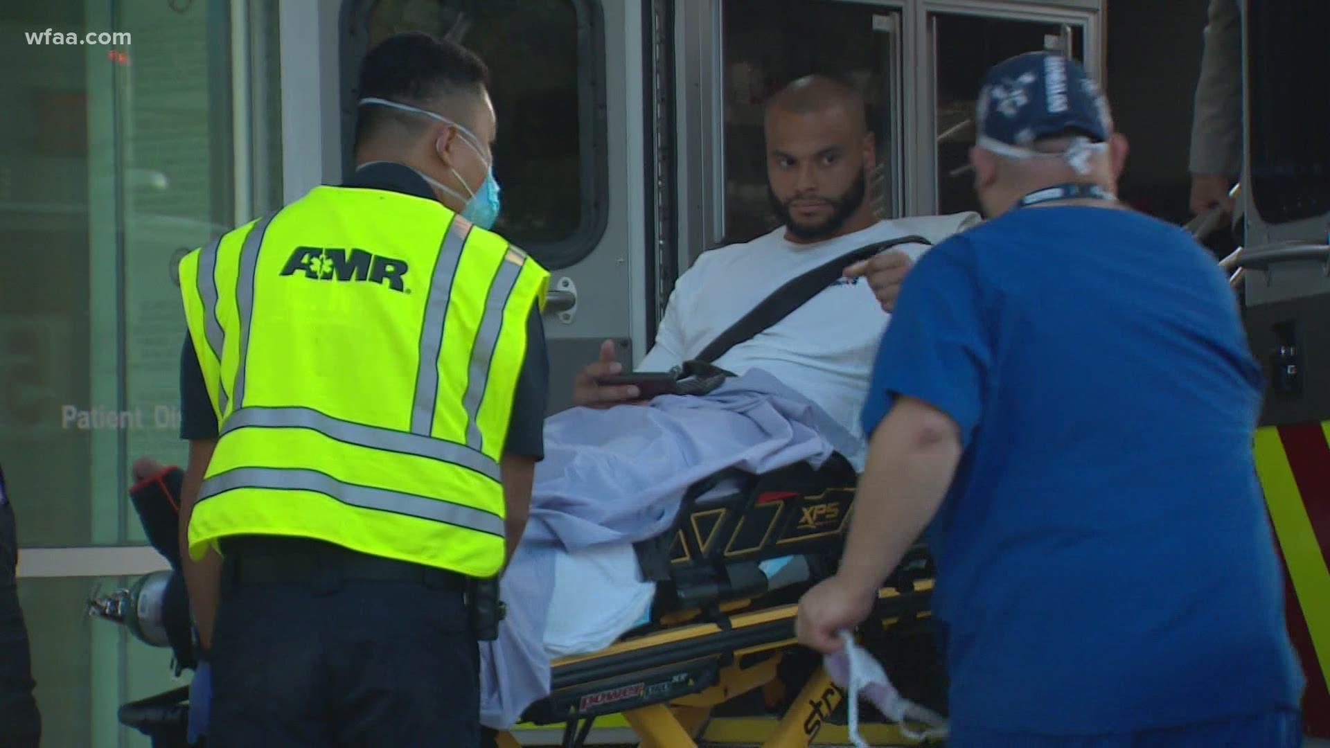 Dallas Cowboys Qb Dak Prescott Fractures Right Ankle Team Says Firstcoastnews Com