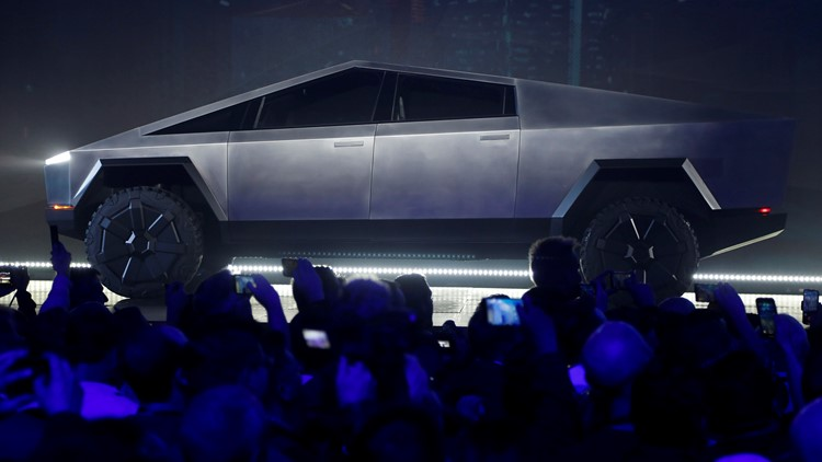 APTOPIX Tesla Pickup