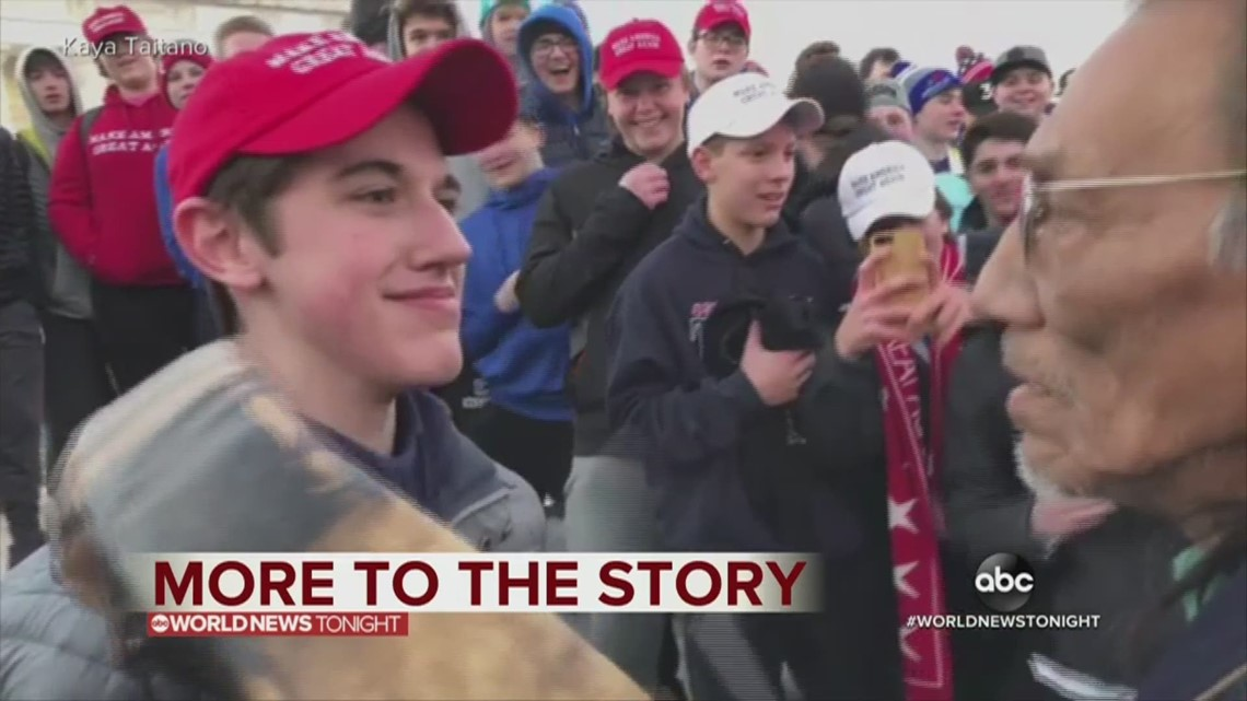 6c855d8776c FULL STATEMENT  Student wearing MAGA hat speaks out about incident with  Native American