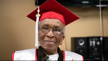 'I'm Going to Think I'm Dreaming': 99-Year-Old WWII Veteran Gets Birthday Wish To Walk Across Stage at Her Alma Mater's Commencement