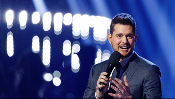 Give the gift of Michael Bublé this holiday season with tickets to his performance
