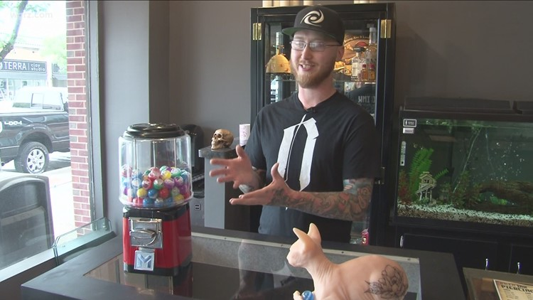Buffalo tattoo shop goes viral on TikTok with its 'gumball tattoos'