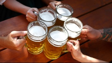 Beer before wine is fine? No, you'll still be hungover.