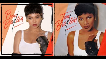 NAILED IT! Beyonce tributes Toni Braxton in Halloween costume