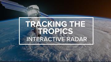 Tropics Interactive Radar
