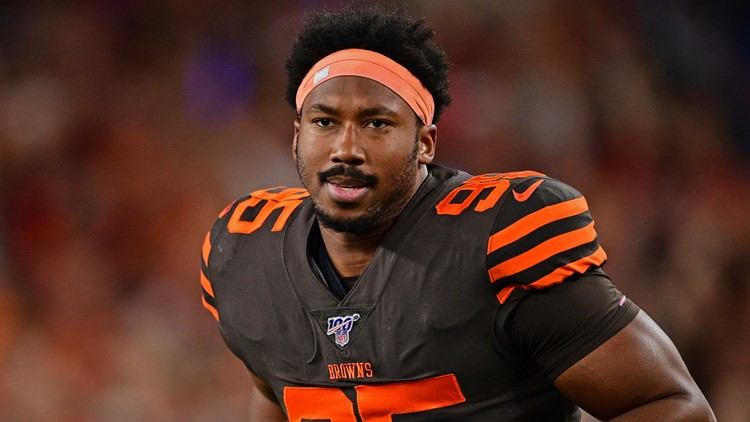 Myles Garrett's indefinite suspension upheld by NFL