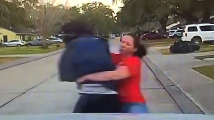 WATCH: Texas mom makes perfect tackle to bring down suspected peeper