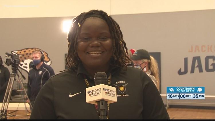Athlete of the Week: Raines' Karena Burke