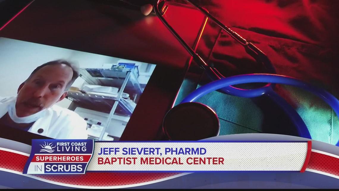 Saluting our Superhero in Scrubs, Jeff Sievert