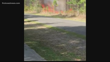 Brush fire a close call for neighbors in Pumpkin Hill Preserve