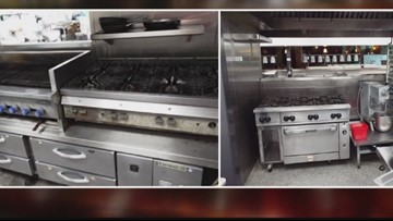 Kitchen equipment up for auction at Fionn MacCool's